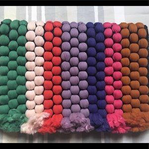 Stella Dot multicolored clutch unique